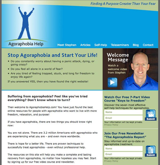 Agoraphobia Help web