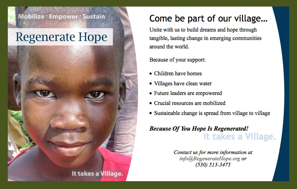 Regenerate Hope web