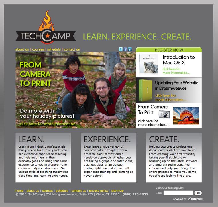 TechCamp web