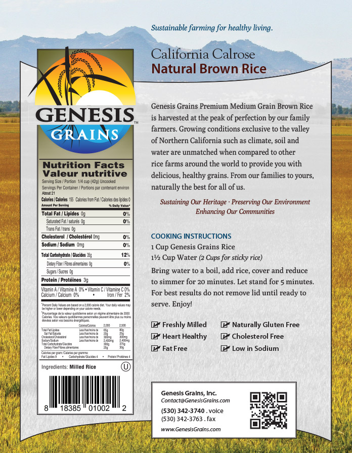 Genesis Grains