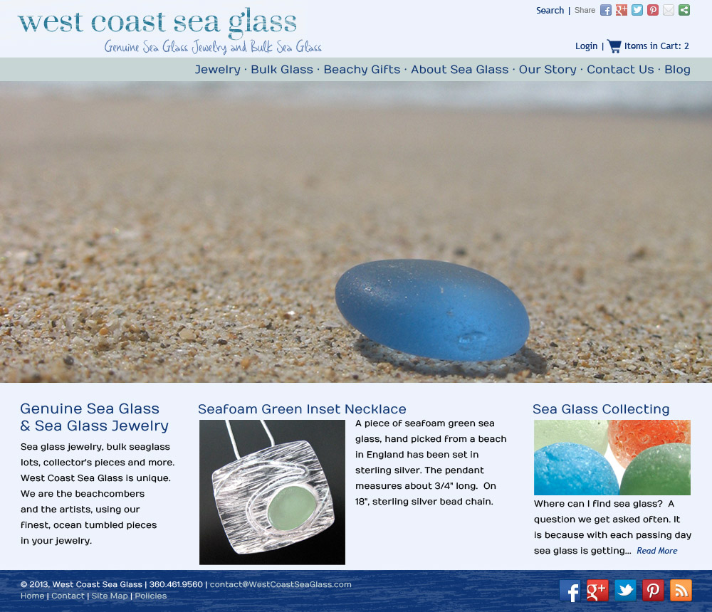 West Coast Sea Glass