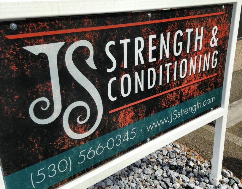 JS Strength street sign