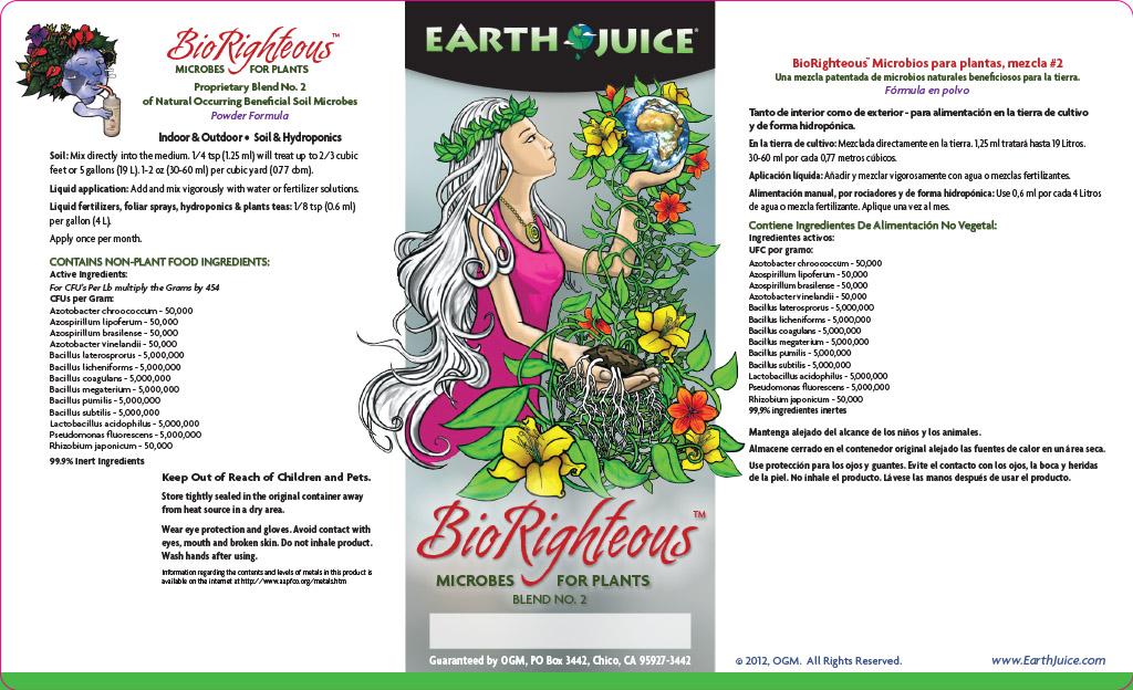 BioRighteous label