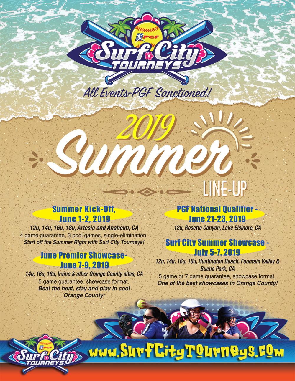 Surf City Softball Summer Tournament