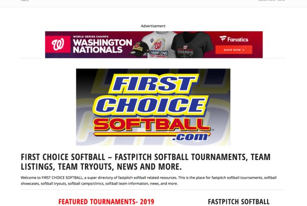 First Choice Softball
