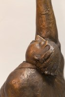 One True Thing – Michael Hermesh, Bronze, 29 X 14 X 14 inches, New Bronze Releases by Michael Hermesh