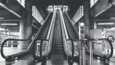 Escalators Going Up