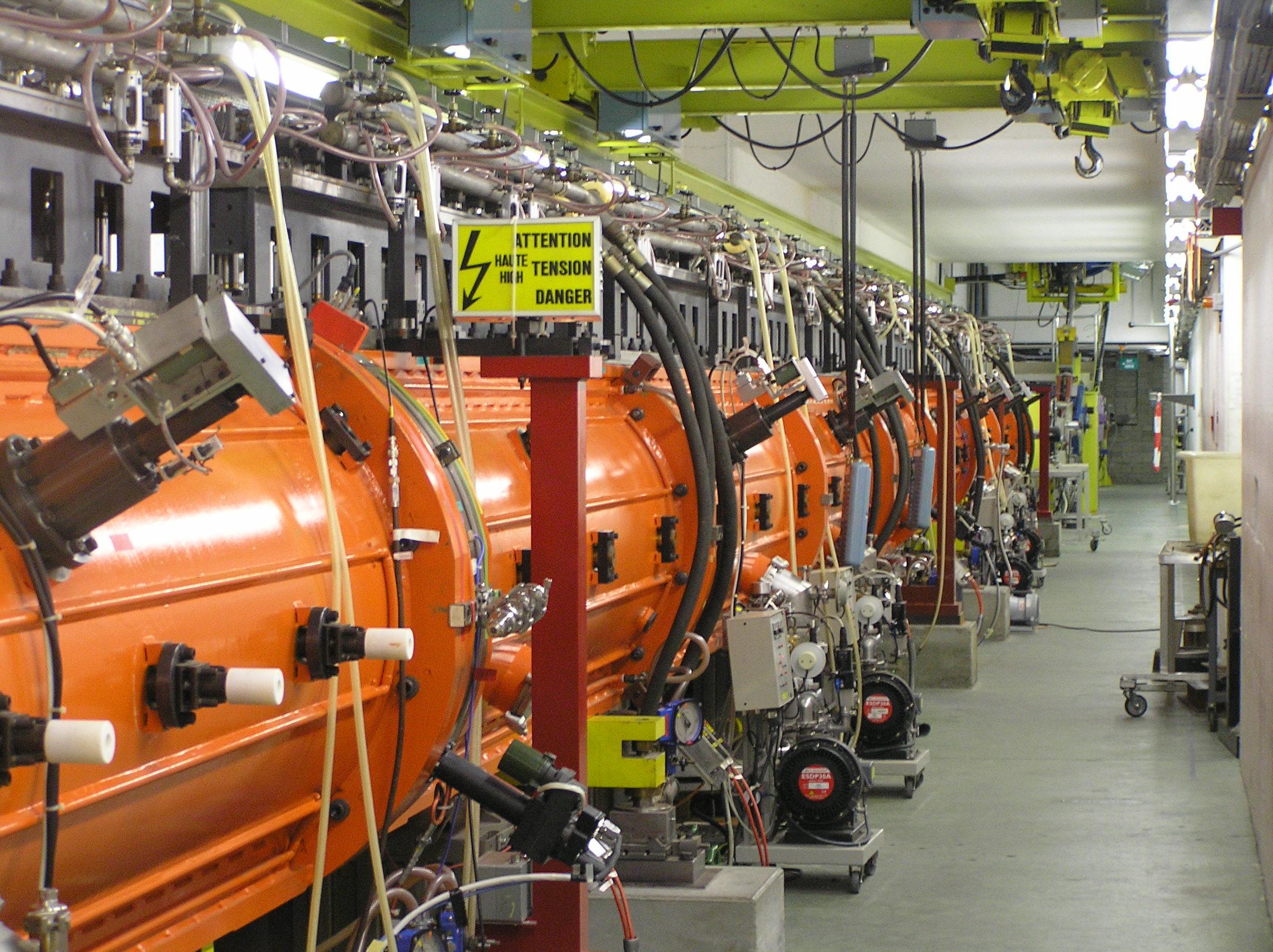 An experimental linear collider.
