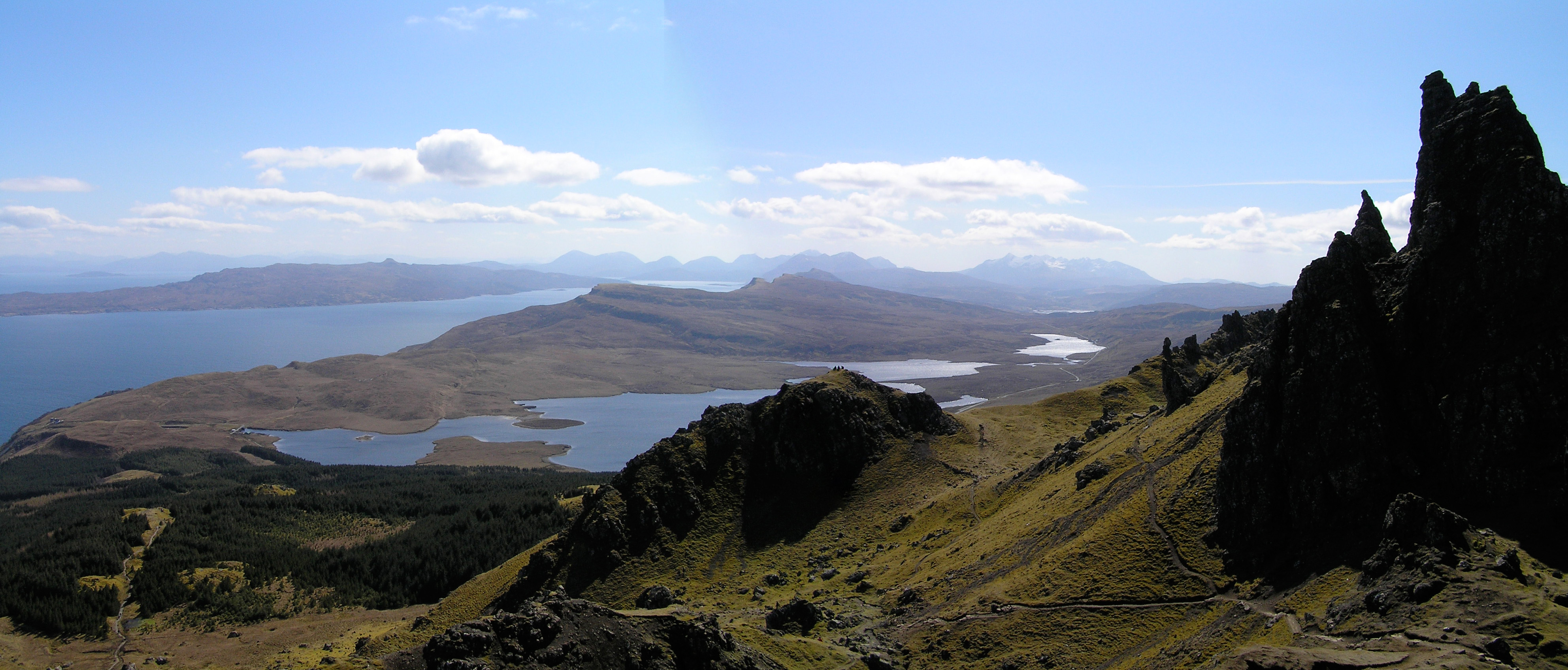 A quick panorama of the Isle of Skye