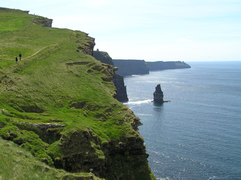 The Cliffs of Moher on the Western Coast of Ireland