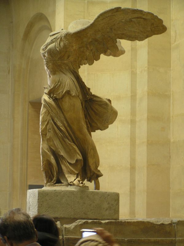 My Favorite, the Winged Victory of Samothrace.