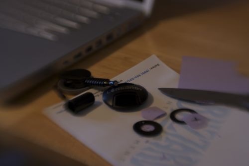 My simple aperture alteration tools.