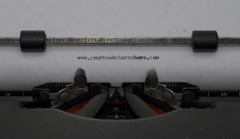 Typewriters are fun for short periods of time.