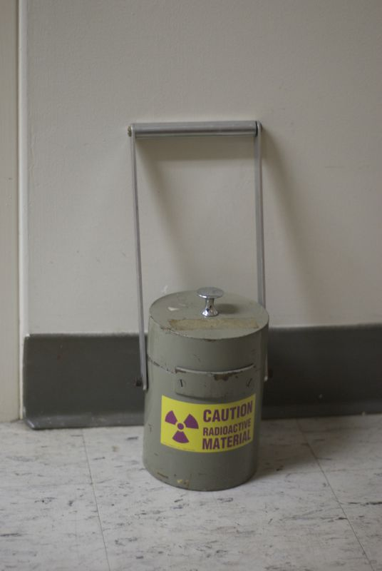 Just a little radiation.