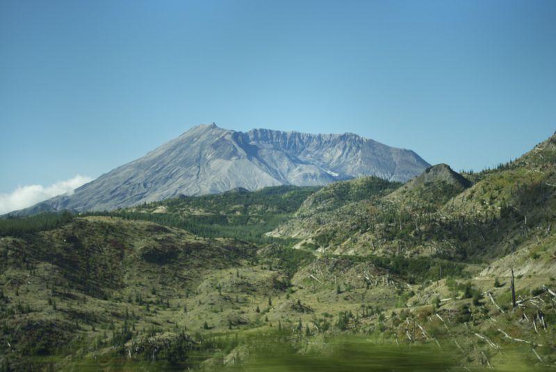 A grab shot of Mt. St. Helens