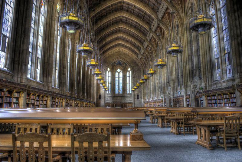 The reading room at the University of Washington.