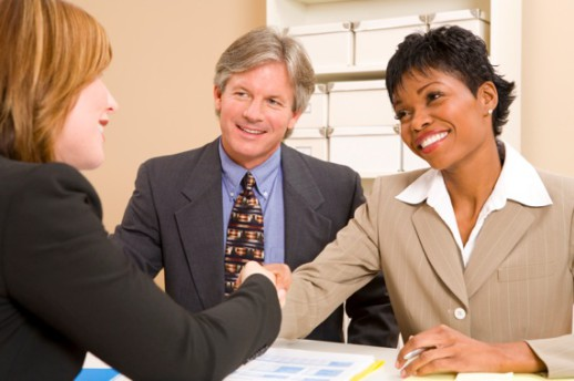People Shaking Hands During a Job Interview - Photo courtesy of ©iStockphoto.com/MichaelDeLeon, Image #6492382