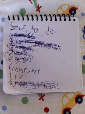 Harrison's To-Do List