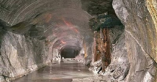 The tunnels of Bucegi. Group Bildenberg Interests for the construction