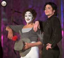 Pantomime talent - with Marcel Marceau