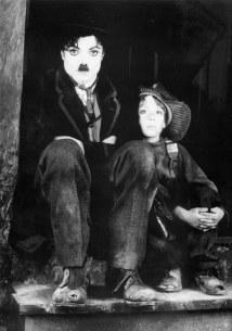 Michael as Chaplin