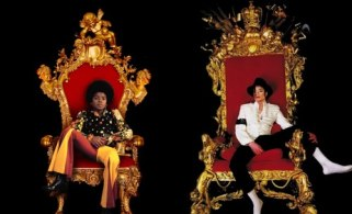 The unique appearence: Two Kings - the gifted black child and the super star who turned white.