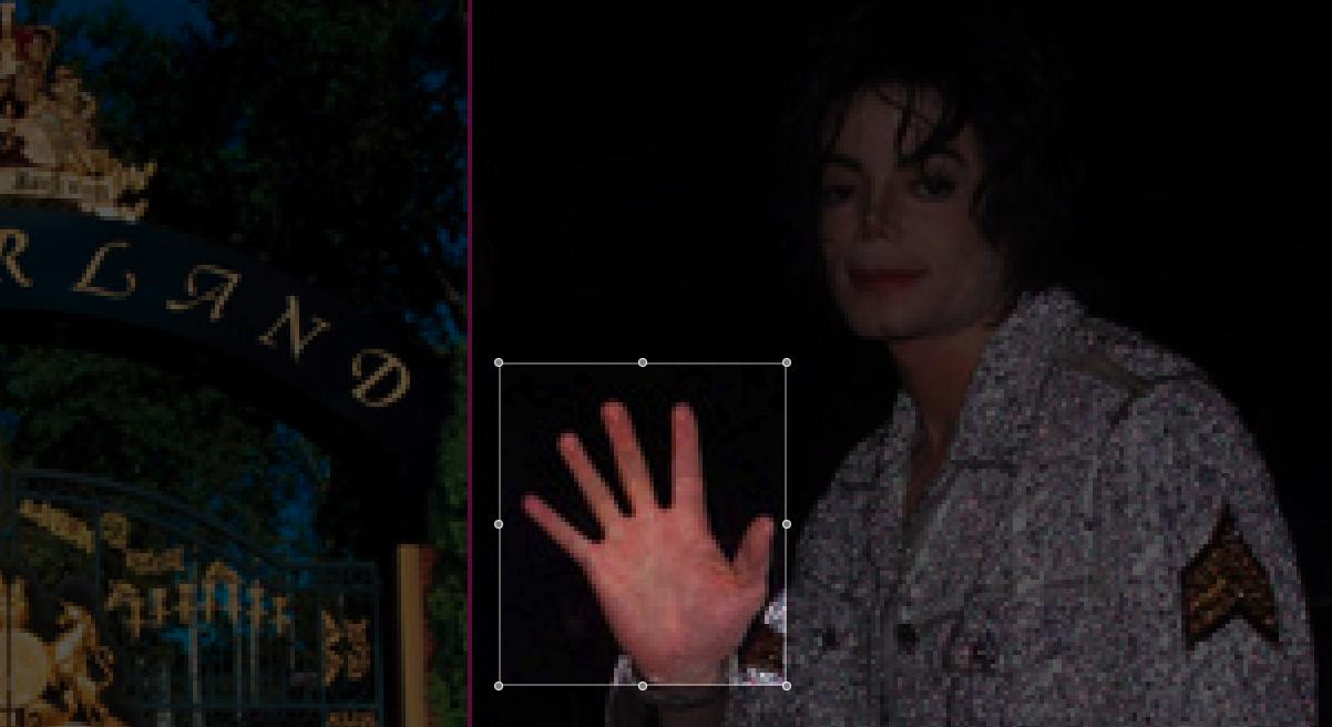 Michael Jackson right hand 90's