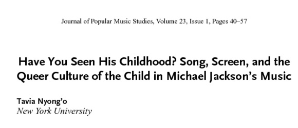 (c) 2011 Journal of Popular Music Studies