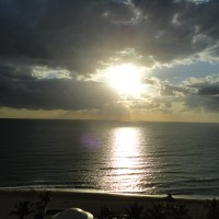 Miami 2010: Watching the Sun Rise