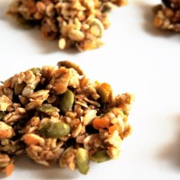 Red Lentil and Pumpkin Oat Clusters
