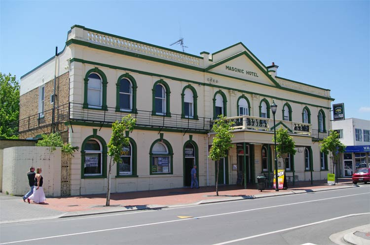 The Masonic Hotel, Duke Street, Cambridge, New Zealand