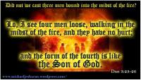 Three Hebrew children