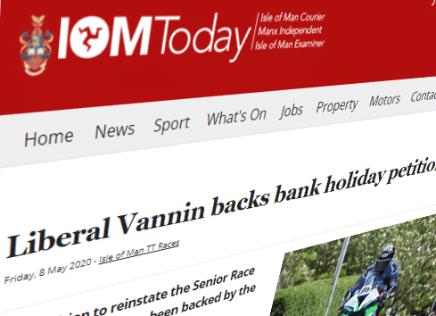 Liberal Vannin backs bank holiday petition