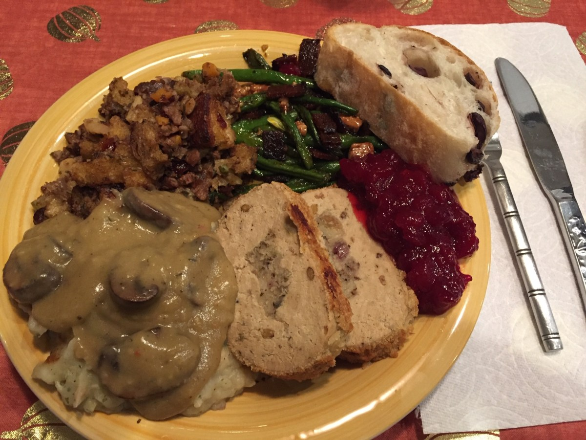 Gratefully Thankful Thanksgiving | Mostly Vegan