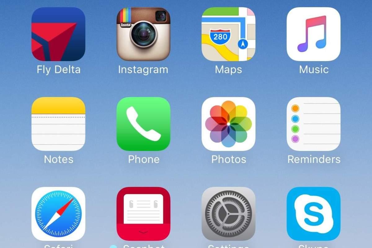 Organize your Home screen