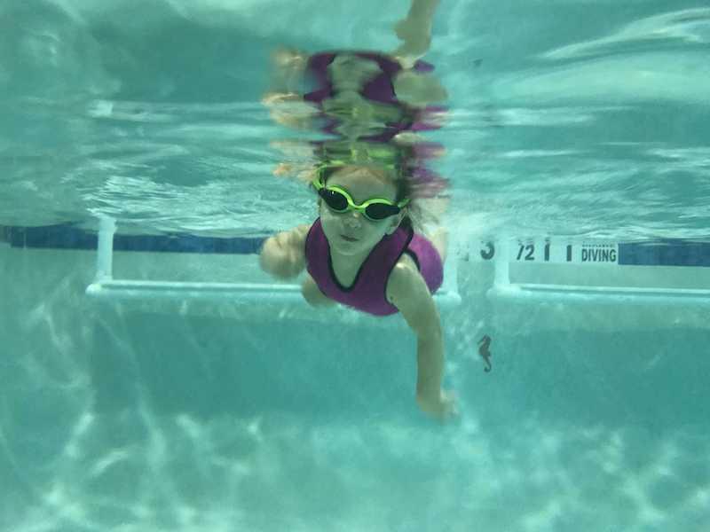 iPhone 7 Underwater