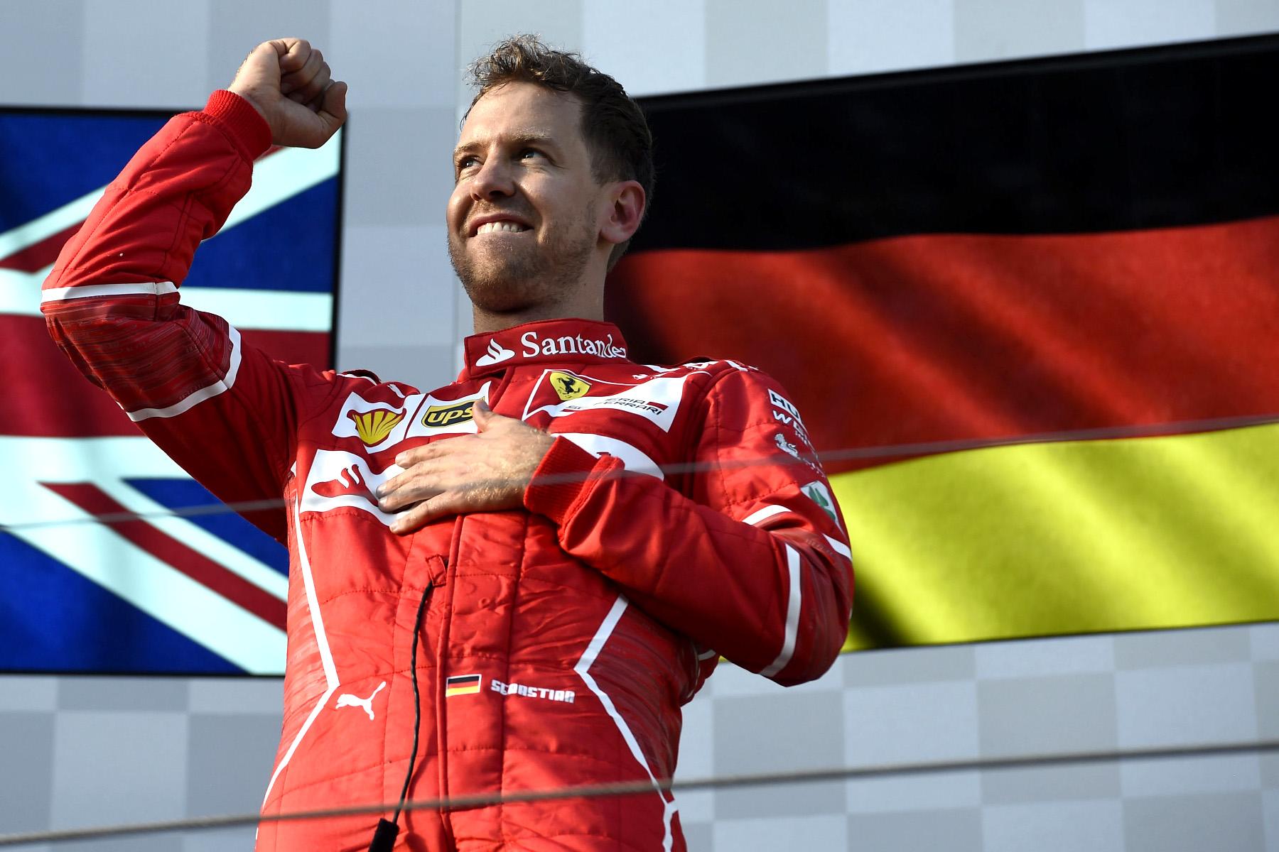 About time: Ferrari rejoices winning return
