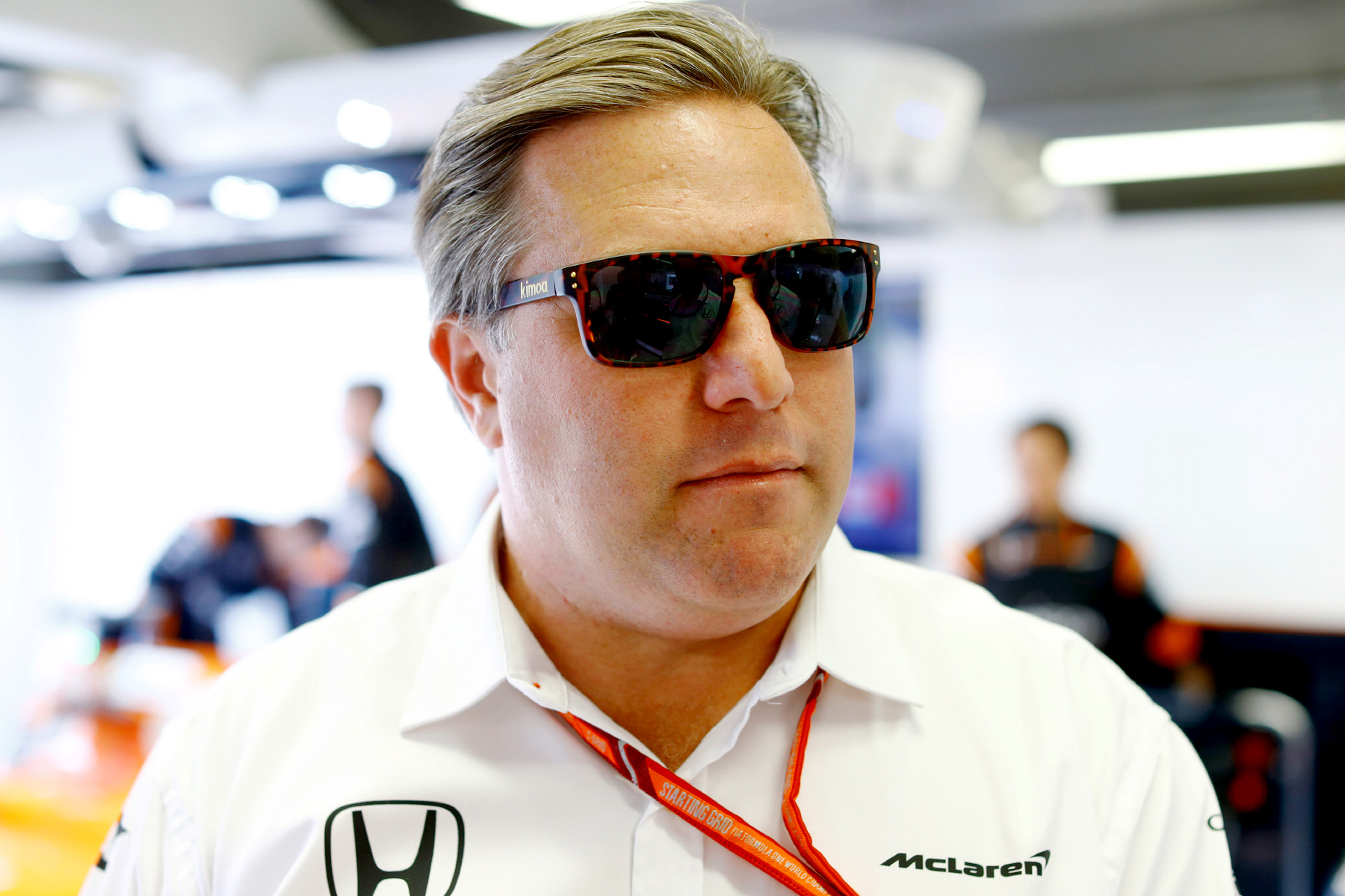 © McLaren executive director Zak Brown at the Canadian Grand Prix.