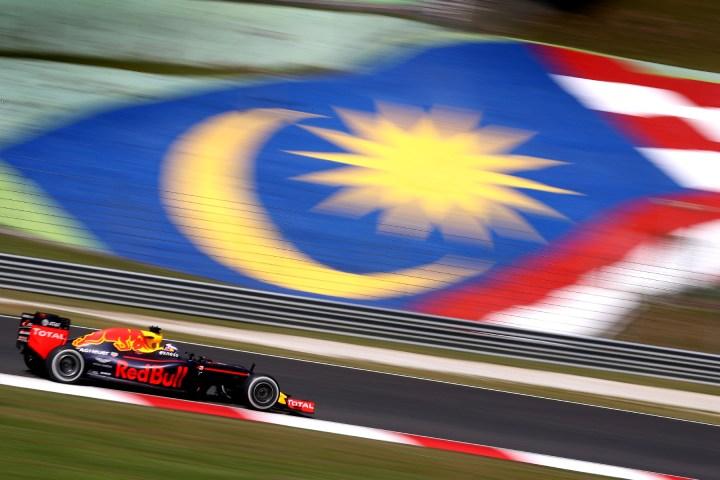 Daniel Ricciardo at the 2016 Malaysian Grand Prix.