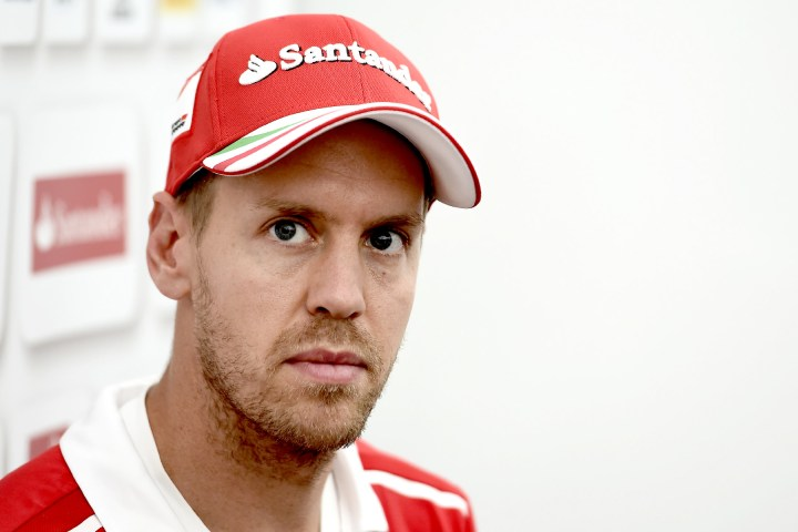 Sebastian Vettel at the 2017 Japanese Grand Prix.
