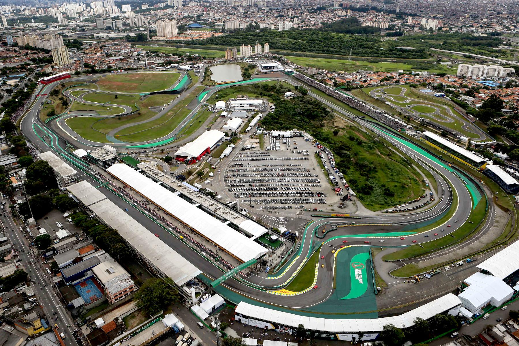 The Autódromo José Carlos Pace.