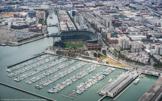 AT&T Park and China Basin