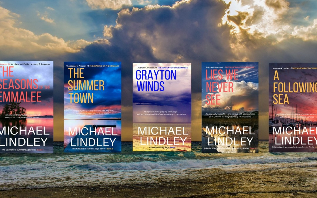 A Year in Review for Michael Lindley Novels.