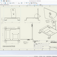 SOLIDWORKS 2017 - Making your Drawings Look Nicer! - Drawing Views #SOLIDWORKS #SW17