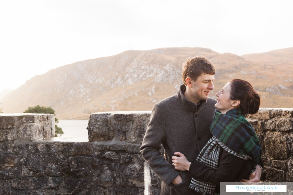 Glenveagh Park Donegal Engagement - Louise & David