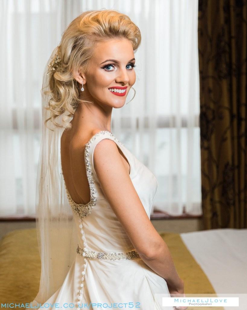 Beautiful Bride - Project 52 - Week 2 - Portrait: Headshot