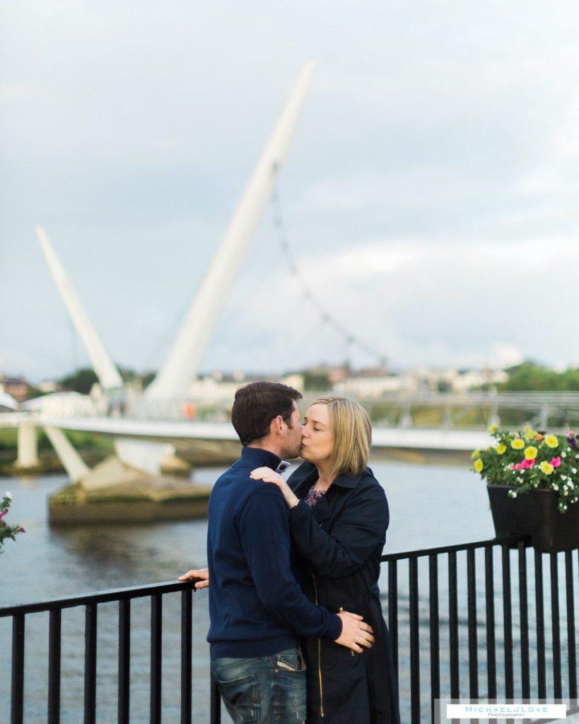 Derry Londonderry Engagement Photos - Peace Bridge, Craft Villag