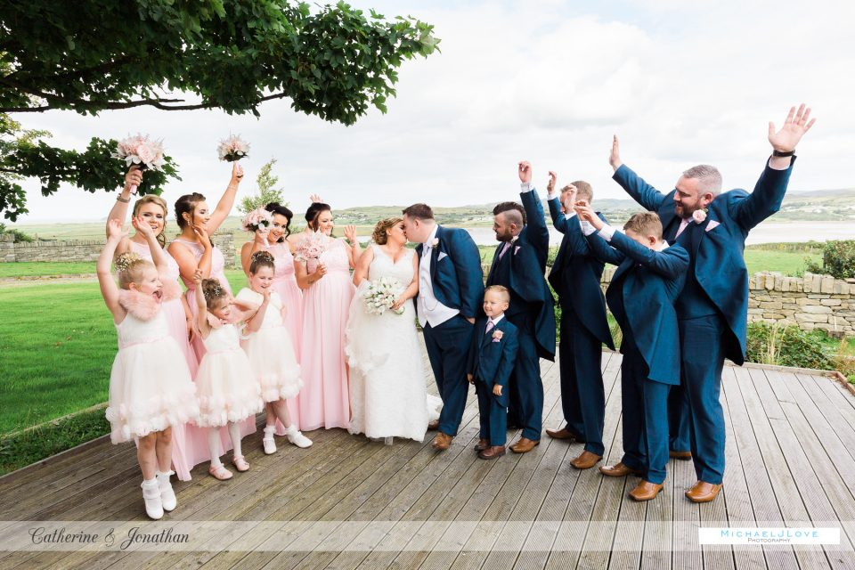 Ballyliffin Hotel Wedding, Donegal - Catherine & Jonathan
