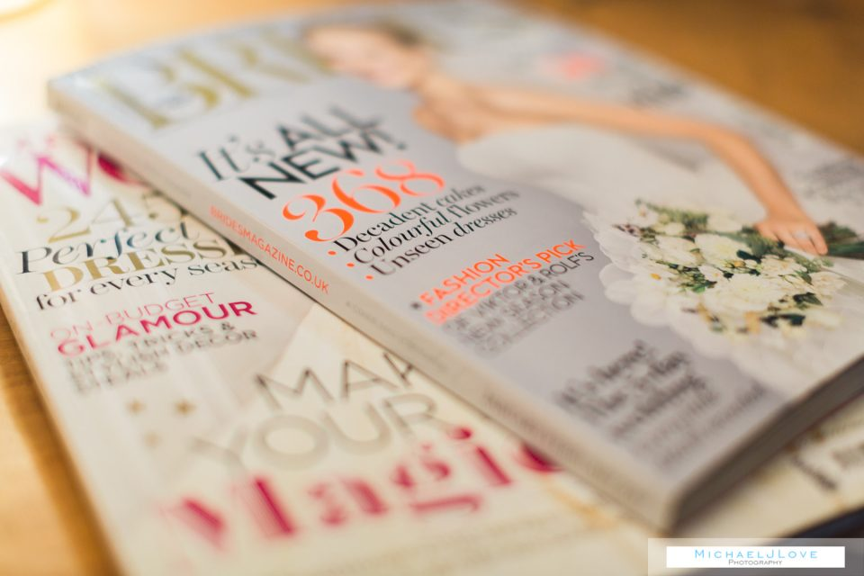 Wedding planning advice - research magazines