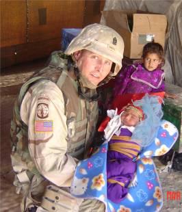 Command Sergeant Major Michael Mabee, Tikrit, Iraq 2004